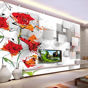 3D Infloresce 578 Wallpaper Murals Wall Print Wallpaper Mural AJ WALL UK Kyra