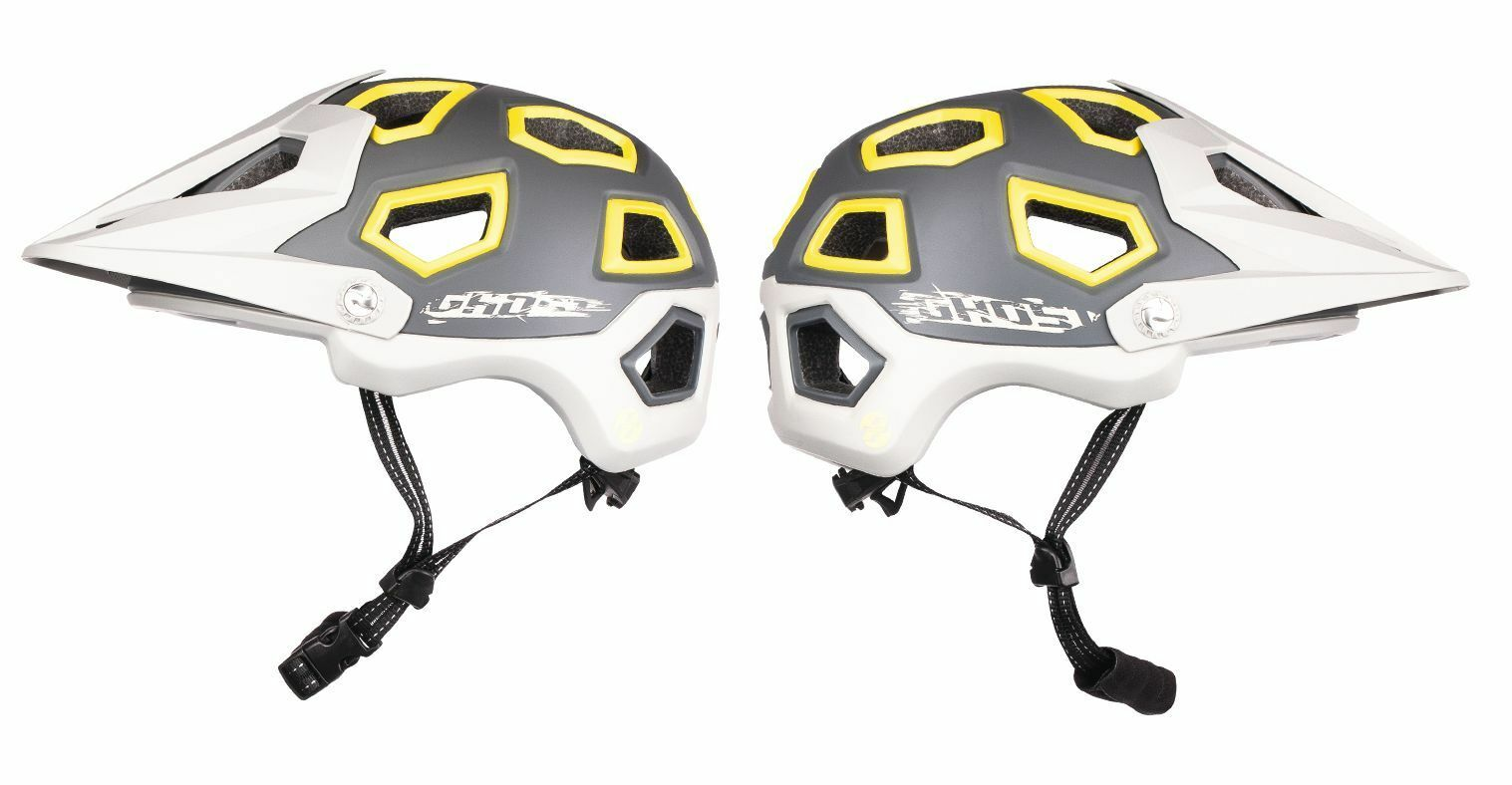 Ghost All Mountain Helmet-gris gris jaune-Taille 57-61 Cm Bike Helmet