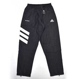 ae8445e808b7 Details about NWT Gosha Rubchinskiy x Adidas Mens Black Logo Track Pants  Jogger L DS AUTHENTIC