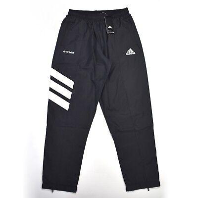NWT Gosha Rubchinskiy x Adidas Mens Black Logo Track Pants Jogger L DS AUTHENTIC | eBay
