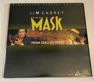 The Mask - LASERDISC - *RARE* Widescreen Special Edition - VGC - Jim Carrey