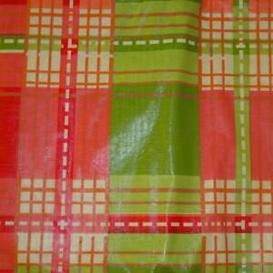 Details About FALL PLAID VINYL TABLECLOTH~Flannel Back~ALL  SIZES~Thanksgiving Primitive~NEW