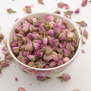 100-Gramm-Rosa-Rosenknospen-und-Rosenblaetter-Potpourri-parfuemiert