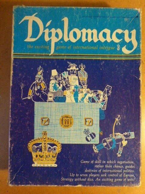 La diplomacia completa por Avalon Hill