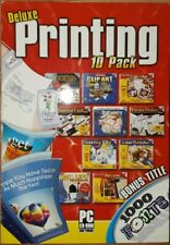 Deluxe Printing 10 Pack Software Bundle