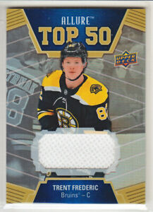 2019-20-UD-ALLURE-TRENT-FREDERIC-RC-JERSEY-TOP-50-ROOKIE-T50-6-Bruins