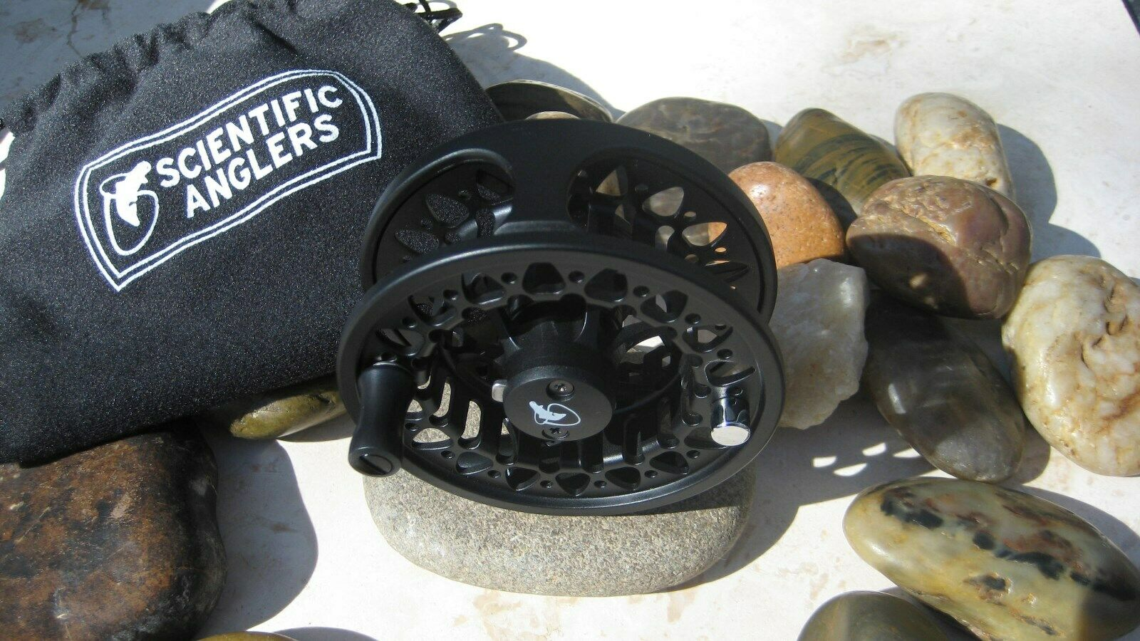 Scientific Anglers (Orvis) Ampère II Reel, noir, Neuf dans sa boîte