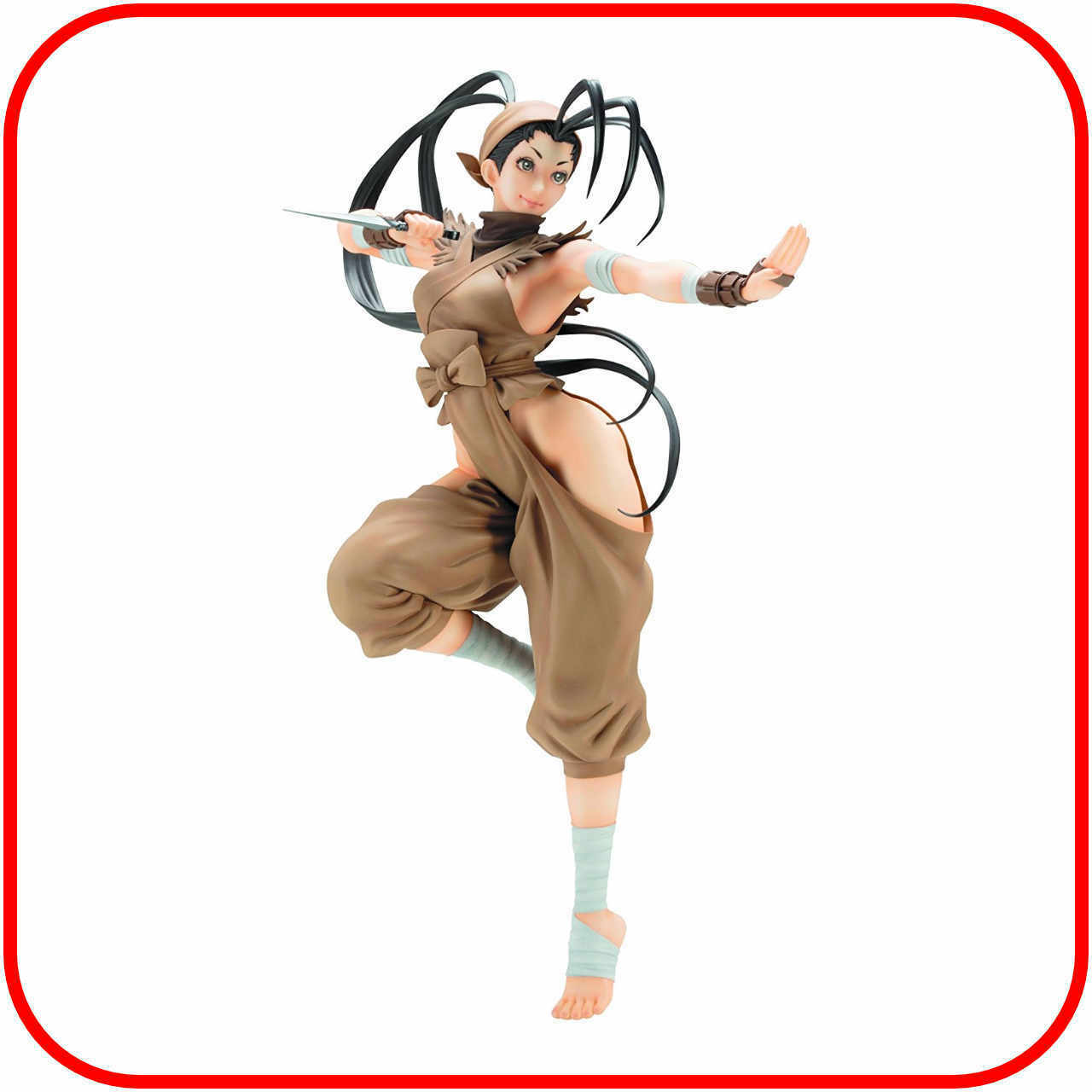 vendiendo bien en todo el mundo Street Street Street Fighter V Ibuki Bishoujo figura estatua Por Kotobukiya  ofreciendo 100%