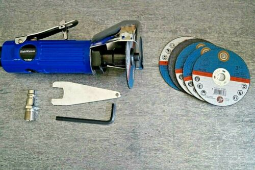 Druckluft Trennschleifer 75mm 6 Scheib Winkelschleifer Trennschneider Einhand