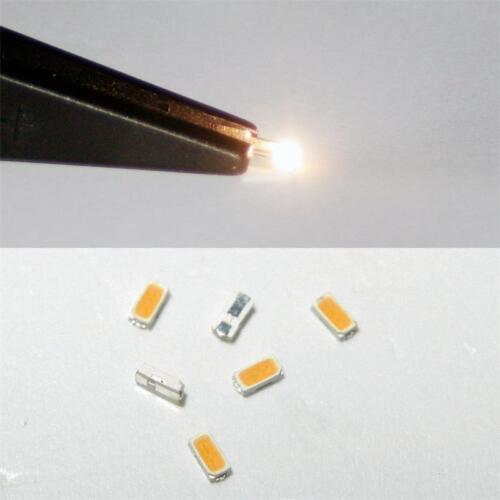 BIANCO CALDO WHITE BIANCO BLANC SMDs LED Lok golden SMT 10 bianco caldo SMD LEDs 3014