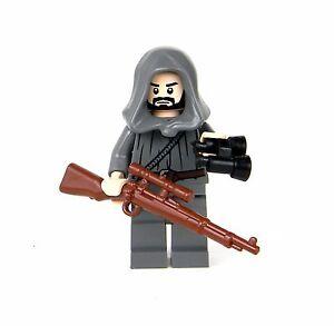 German wwii sniper wehrmacht minifigure soldier sku24 for Siege lego france