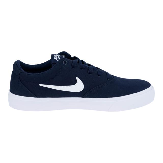 Nike SB Charge Solarsoft Athletic Shoe for Men, Size 13 - Obsidian/White