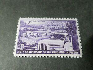 Estados Unidos 1953 , Sello 576 , Camión, Industria, Vehículo, Nueva, VF MNH