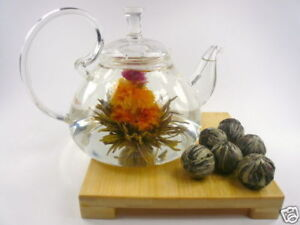 Glass-Teapot-12-Blooming-Flowering-Tea-Gift-Set-A