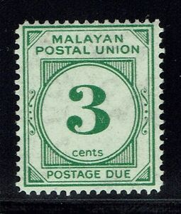 Malaya SG# D16, Mint Lightly Hinged - Lot 013116