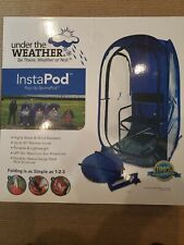 Under The Weather Mesh Pod Instapod Pop-Up Sports Pod w//Carry Case Green