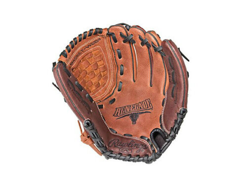 """Rawlings RENEGADE Web Baseball Glove Mitt Right Handed Hand Throw Leather 11.50/"""""""