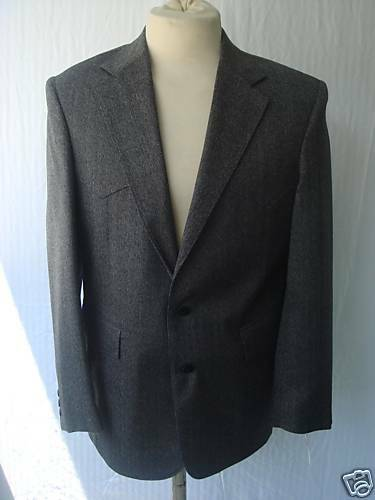 42R NWT  Herren Western Wear Sport Coat  Dark grau Wool