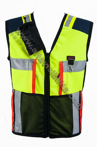 VEST-WAISTCOAT-CIVIL-PROTECTION-DOG-TRAINER-MANTRAILING-RESEARCH-amp-RESCUE