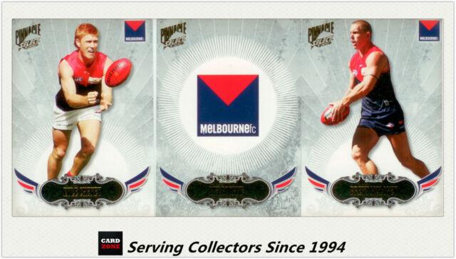 2009 Select AFL Pinnacle Trading Cards Base Team Set Melbourne (12)