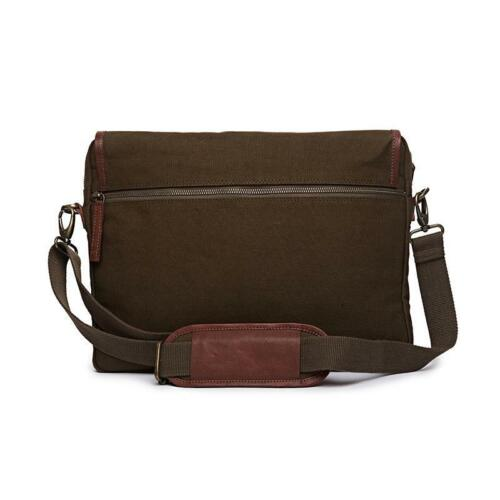 BORSA A TRACOLLA CANVAS PELLE ROYAL ENFIELD ORIGINALE