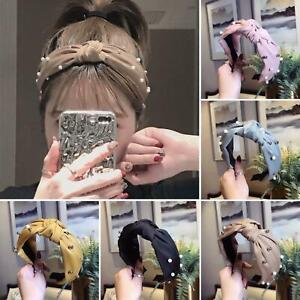 Eg-Femme-Milieu-Noue-Perle-Large-Bandeau-de-Cerceau-Cheveux-Serre-Tete-Chapeau