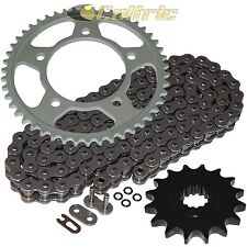 CALTRIC Black Drive Chain and Sprocket Kit Fits YAMAHA YZF-R6 1999-2005 530-Chain Type