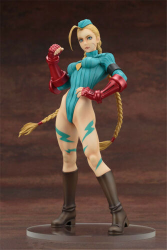 Anime Figure Street Fighter Cammy White Beautiful Girl PVC Figure Toy Gift 9inch