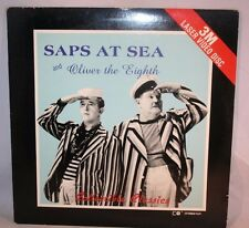 Laserdisc {B} *Laurel & Hardy * Saps At Sea and Oliver The Eighth Double Feature