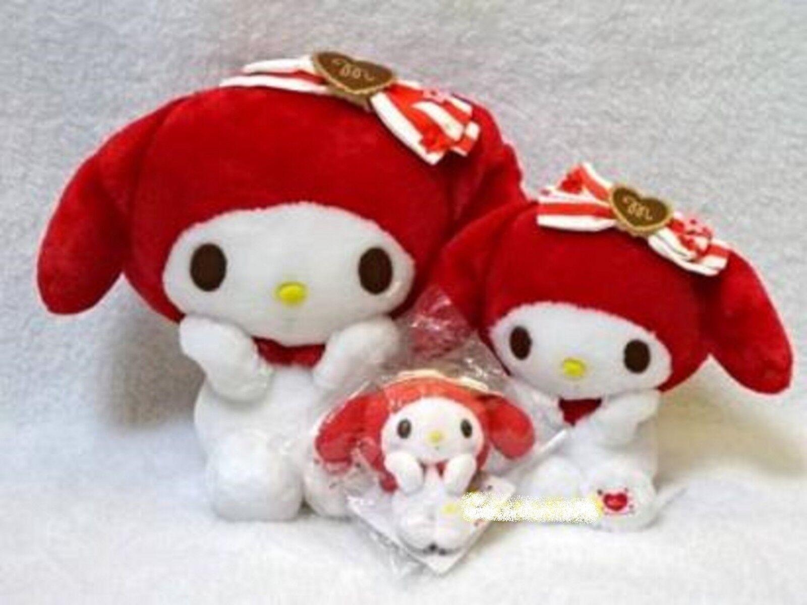 My melody Plush Doll Red 40th Anniversary Limited  2015 SANRIO Cute Mascot RARE