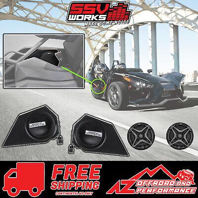 Side Panel Speaker Pods w// 120 Watt 6.5 Speakers Slingshot SSV Works SS-SPP65