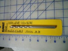 "Dewalt 5/16"" precussion masonry bit 4"" usable length carbide tipped"