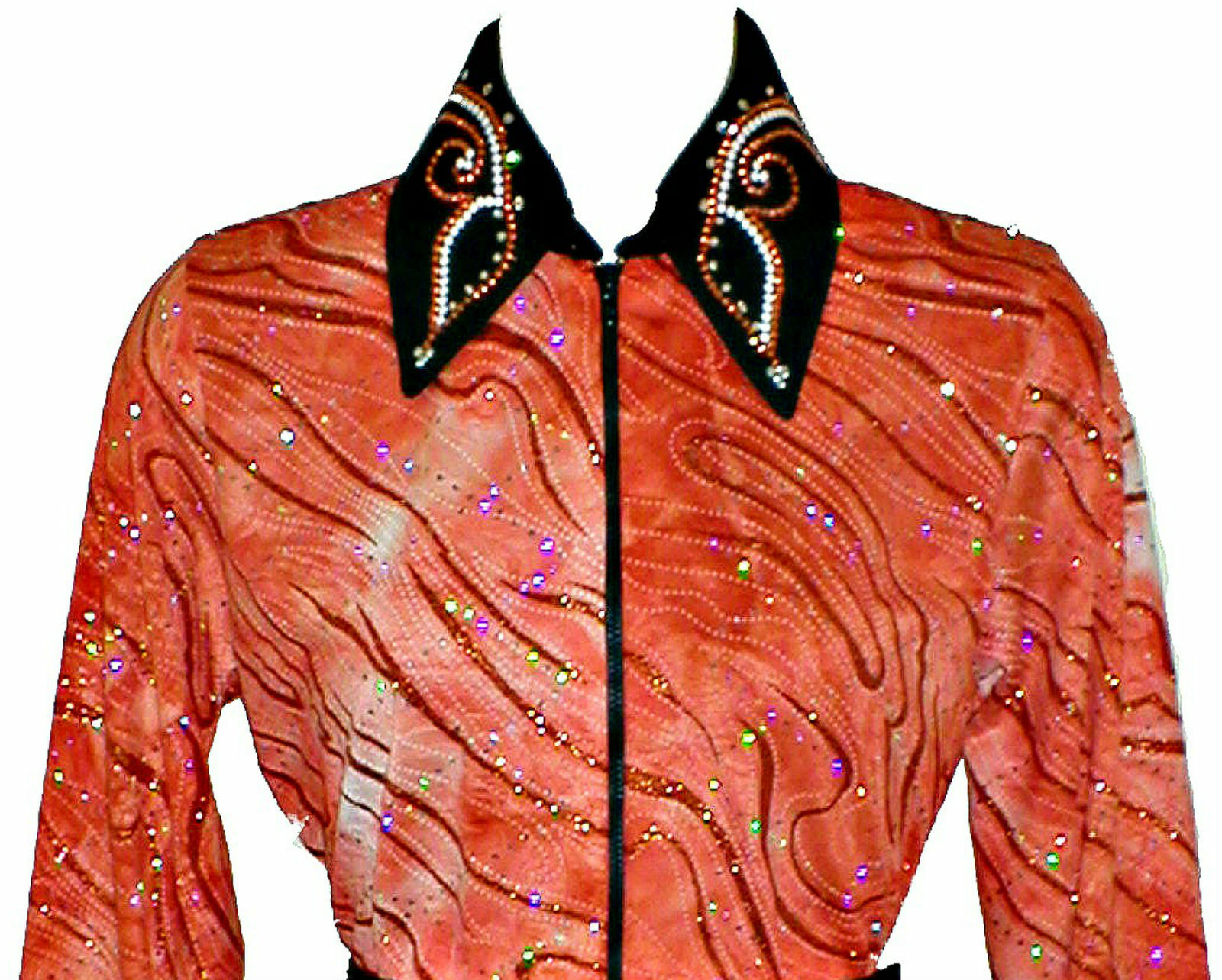 Womans Western Rail, Glamor, Reining, Trail, Rodeo Shirt in 6 color Choices