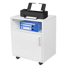Filing Pedestal Mobile File Cabinet Desk Storage Office For Lettera4 Castors Us