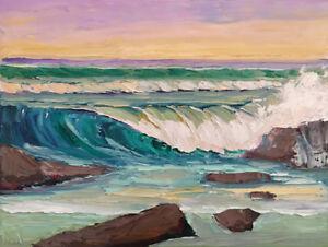 ONSHORE-BREAKER-Original-Seascape-Wave-Expression-Oil-Painting-18x24-090317-KEN