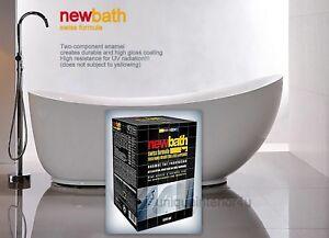 NEW BATH SWISS FORMULA 2K ENAMEL KIT PAINT BATH REPAIR ...