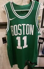 cdceb761f Authentic Nike Icon Boston Celtics Kyrie Irving Jersey 11 Green Mens Large  48