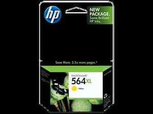 NEW-HP-564XL-Yellow-Ink-Cartridge-New-Generation-Genuine