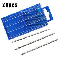 41pcs Mini SAE Micro-Drill Bits Set Index 61-80 And Blue Hand Drill Tools Parts