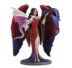 8-5-034-Dragon-Mistress-By-James-Ryman-Statue-Fantasy-Sculpture-Gothic-Fairy-Decor