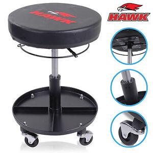 Hawk tools adjustable pneumatic workshop garage mechanics for Garage seat guilherand granges