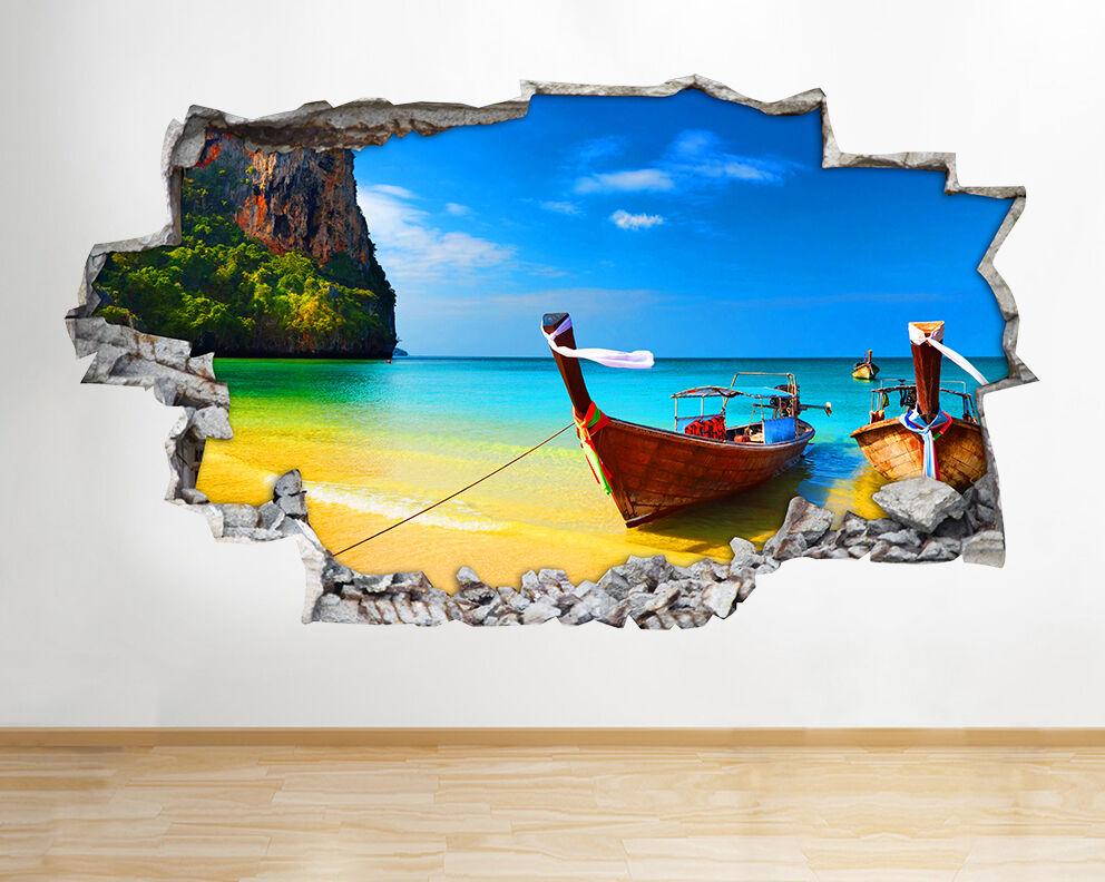 I220 SCENIC Montagne spiaggia oceano rossoto murali 3D 3D 3D ARTE Adesivi Vinile Stanza c73f78