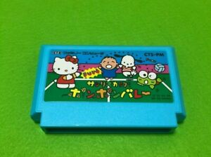 Game-Famicom-Pon-Pon-Volleyball-Nintendo-Sanrio-ASCII-Tested-Cleaned-Japan