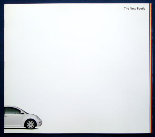 USA PROSPEKT BROCHURE 2000 VOLKSWAGEN VW NEW BEETLE