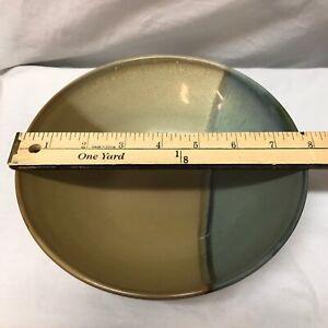 Sango-Gold-Dust-Green-5040-Soup-Cereal-Bowl-7-75-034-Diameter-Beige-Brown-Tan-Panel