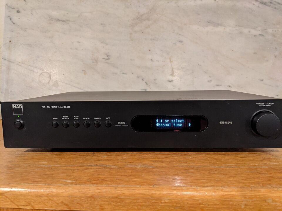 DAB-radio, Nad, C445