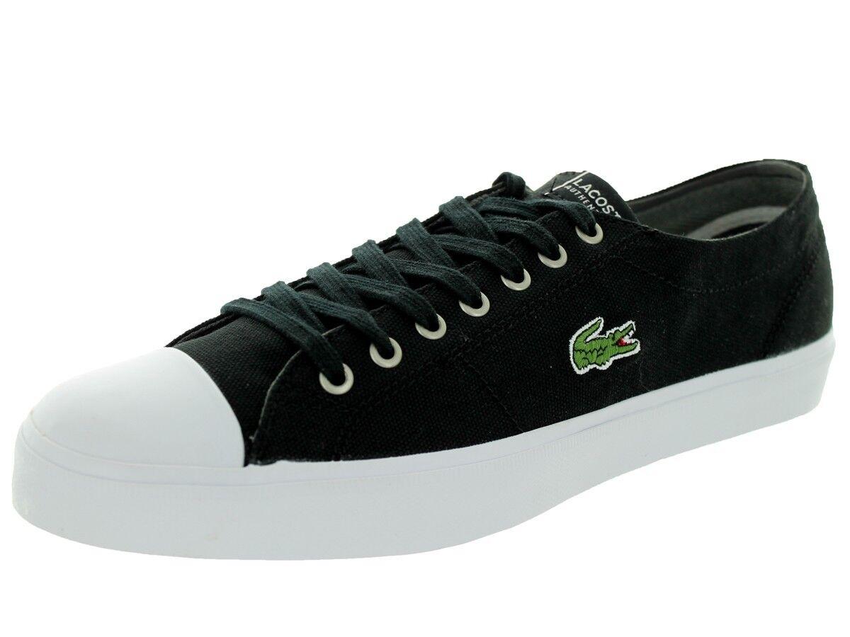 Lacoste marcel chunky tc cts spm uomo numero 12 scarpe nuove tele nero