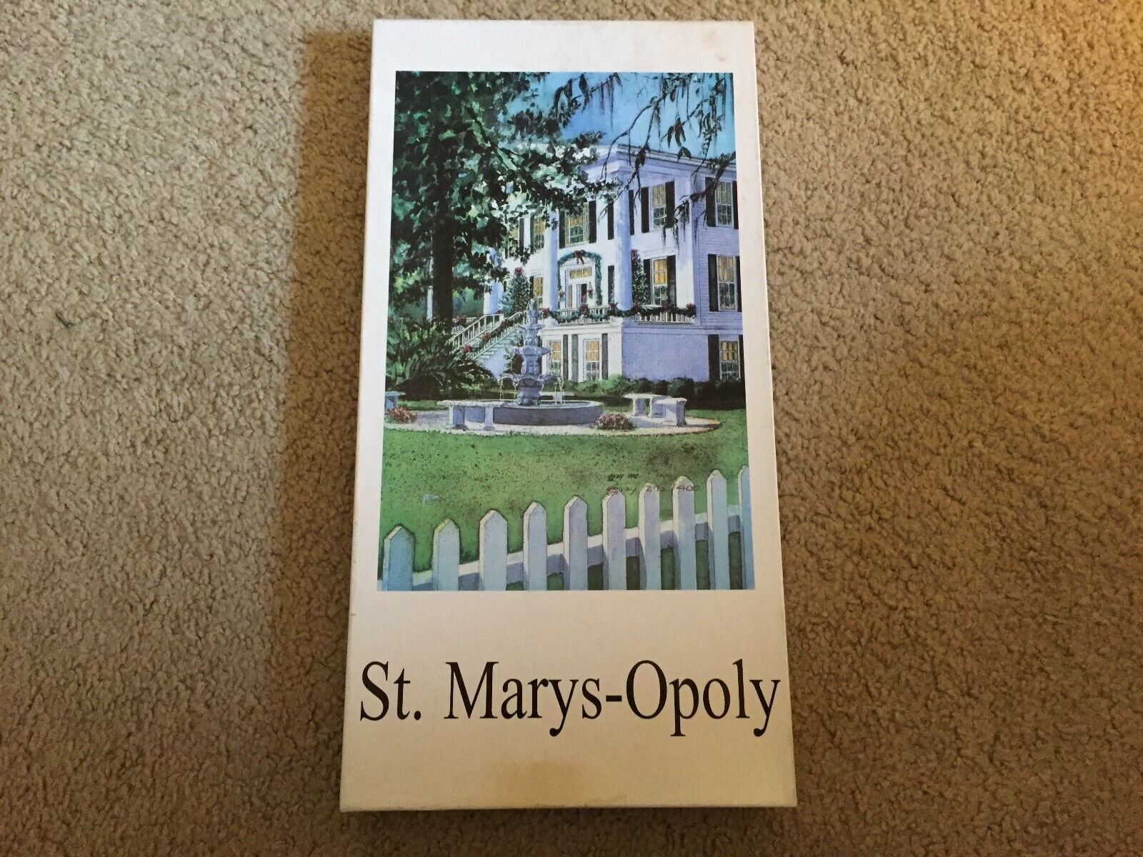 St. Marys-opoly Game - Monopoly - Never Played