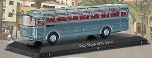 VAN-HOOL-306-MODEL-COACH-BUS-1-76-SCALE-IXO-ATLAS-4642117-BLUE-CLASSIC-COACHES
