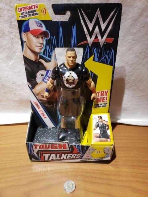 """WWE Tough Talkers JOHN CENA Pro-ID Tech 7/"""" Figure by Mattel"""